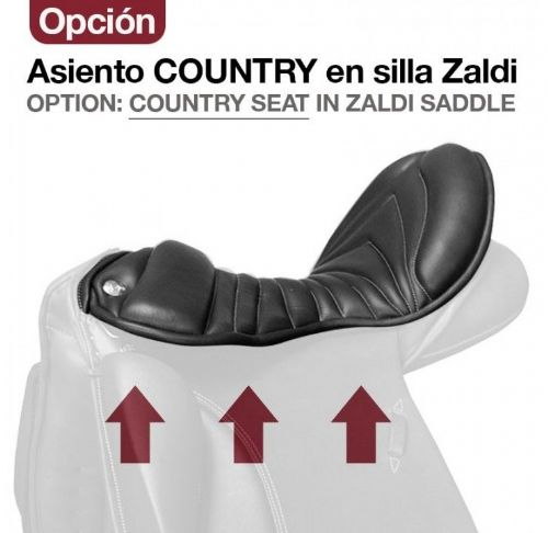 Comfort seat for Zaldi saddles.